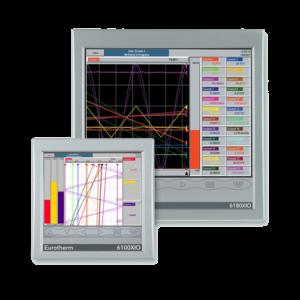 Registradores Gestión de datos Eurotherm 6100a